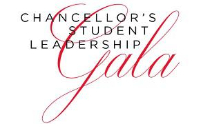 Logo for Chancellor's Student Leadership Gala