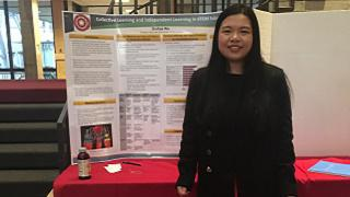 Image of Qiuhua Wu at LA Poster Session