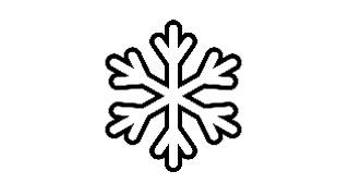 Image of snowflake for winter 2019-2020